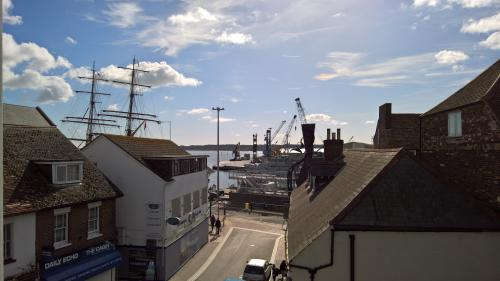 Sea music and Poole Quay from Poole Museum 3